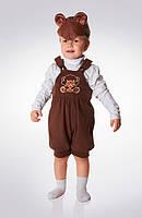 ПРОКАТ детский карнавальный костюм Эконом «Мишка»