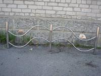 Декоративное огаждение из нержавеющей стали в Славянске