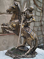 Статуэтка Veronese Рыцарь на коне 27 см 73736