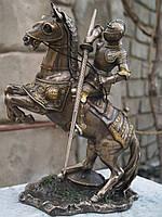 УЦЕНКА! Статуэтка Veronese Рыцарь на коне 27 см 73736