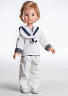 Кукла мальчик Луис   в костюме моряка 32 см  Paola Reina 04822
