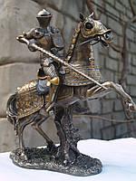 Статуэтка Veronese Средневековый рыцарь 27см 73740