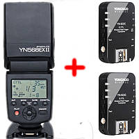 Вспышка Yongnuo YN-568EX II E-TTLII + YN-622c TTL 1+1 для Canon + 1 год гарантии от магазина