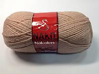 Пряжа nakolen - цвет розово-бежевый