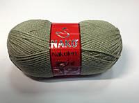 Пряжа nakolen - цвет светлый хаки