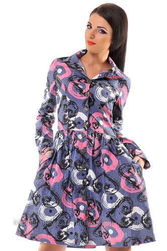 Платье женское заклепки