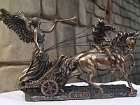 Скульптура Veronese Ника на колеснице 26 см 75984
