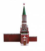 Картонная модель Никольская башня Московского Кремля 254 Умная бумага