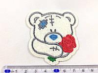 Нашивка Мишка teddy с Розой