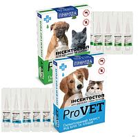Инсектостоп ProVET капли а/б для щенков и котят 1 пипетка 2г