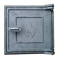 Дверцы топочные чугунные