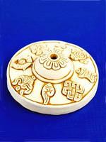 Подставка для тибетских благовоний восемь символов счастья