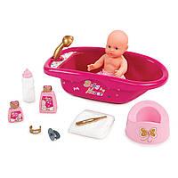 Кукольная ванночка для купания с аксессуарами Baby Nurse Smoby 220302