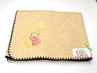 Детские экко одеяла (мишка на луне розовый)
