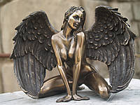Статуэтка Veronese Девушка Ангел 12 см 76011