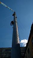 Производство и монтаж промышленных дымовых и вентиляционных труб  Для удаления производственных газов и дыма и