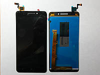 Дисплей (экран) Lenovo S60T с  сенсором черный orig.