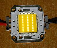 30Вт светодиод  2500-2700 лм теплый белый