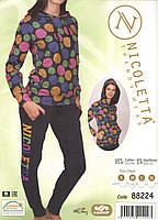 Женская байковая  пижама   Nicoletta 88224