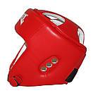 Шлем боксерский REYVEL винил (2) цвета в ассортименте, фото 8