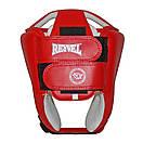 Шлем боксерский REYVEL винил (2) цвета в ассортименте, фото 9