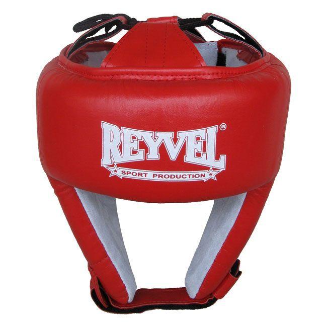 Шлем боксерский REYVEL кожа (1)  ФБУ цвета в ассортименте