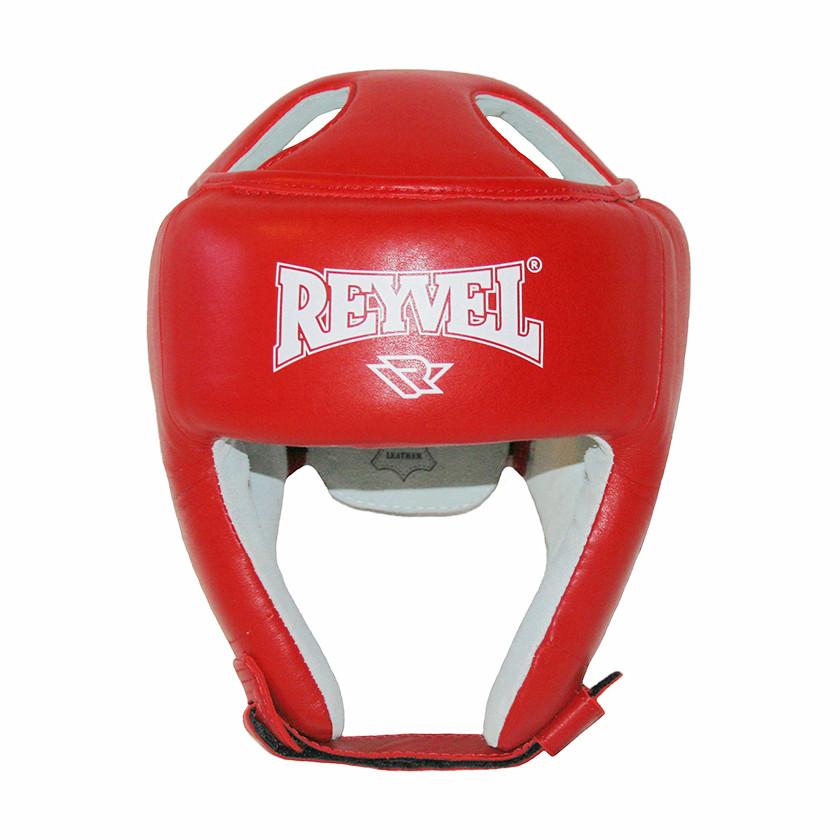 Шлем боксерский REYVEL кожа (2)  (без печати ФБУ) цвета в ассортименте
