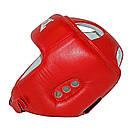 Шлем боксерский REYVEL кожа (2)  (без печати ФБУ) цвета в ассортименте, фото 2