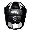 Шлем боксерский REYVEL кожа (2)  (без печати ФБУ) цвета в ассортименте, фото 6