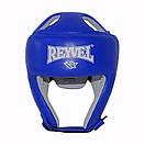 Шлем боксерский REYVEL кожа (2)  (без печати ФБУ) цвета в ассортименте, фото 7