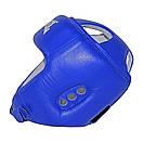 Шлем боксерский REYVEL кожа (2)  (без печати ФБУ) цвета в ассортименте, фото 8