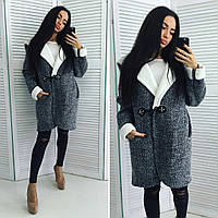 Пальто меховое женское №1083-159