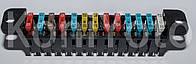 Блок предохранителей 2103 2106 3302 2217 2705 31105 3110 нового образца Евро (13 предохр) (монтажный) Самара