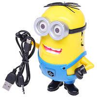 Аудио-колонка Миньон S09  + microSD/USB + радио