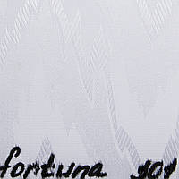 Вертикальные жалюзи Ткань Fortuna (Фортуна) Белый 301