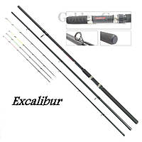 Bratfishing Excalibur Feeder 3.3m. (Тест: до 90 г.)