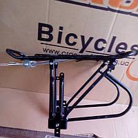 Багажник велосипедный под дисковые тормоза(алюминиевый)