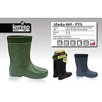 Сапоги LEMIGO Alaska 869-41 EVA зеленые