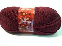 Пряжа nakolen - цвет темно-бордовый