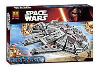 Детский конструктор Bela 10467 (аналог LEGO Star Wars 75105) Сокол Тысячелетия (Millennium Falcon), 1355 дет
