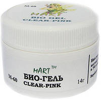 Био-гель прозрачно-розовый mART 15 ml