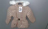 Куртка-пальто зимняя для девочки , фото 1