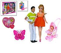 """Кукла """"Defa Lucy семья"""" с ребенком 8088"""