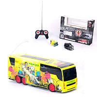Радиоуправляемый автобус игрушка для мальчика