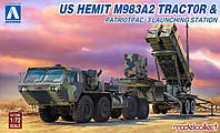 US HEMTT M983A2 TRACTOR&PATRIOTPAC-3 Launchihg station 1/72 MODELCOLLECT 72080
