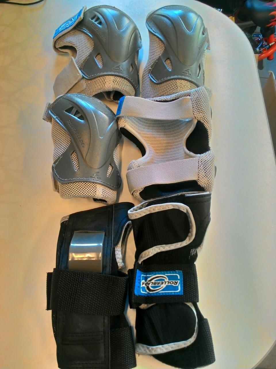 """Защита для роликов Защита Rollerblade PRO JUNIOR 3 PACK L.E - Интернет-магазин """"Micro-baby"""" в Киеве"""