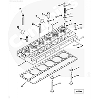 Болты крепления ГБЦ для погрузчика XCMG LW800K LW900K Cummins QSM11
