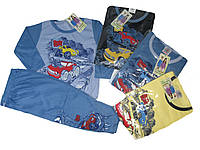 Пижама трикотажная для мальчиков, размеры 98/104,98/104,122/128, 134/140, арт. 687