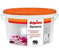 Alpina Renova 10 л Матовая высокоукрывистая краска