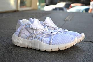 Кроссовки Nike Хуараче , белые, магазин обуви, фото 2